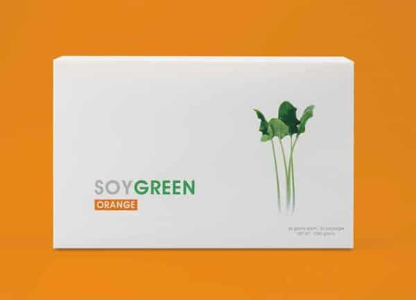 SOYGREEN ORANGE daily nutrition support on Nourish Natural Wellness