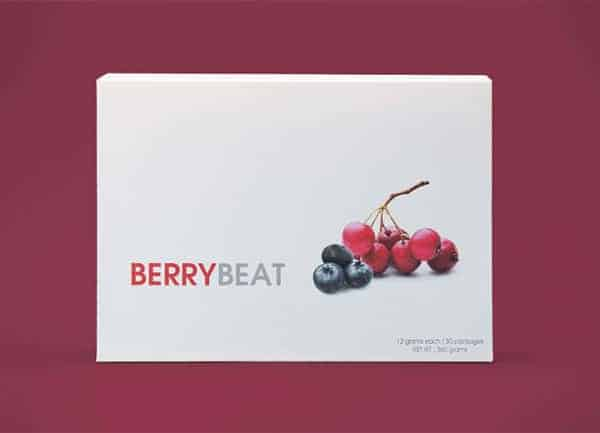 BERRYBEAT heart and liver health support on Nourish Natural Wellness