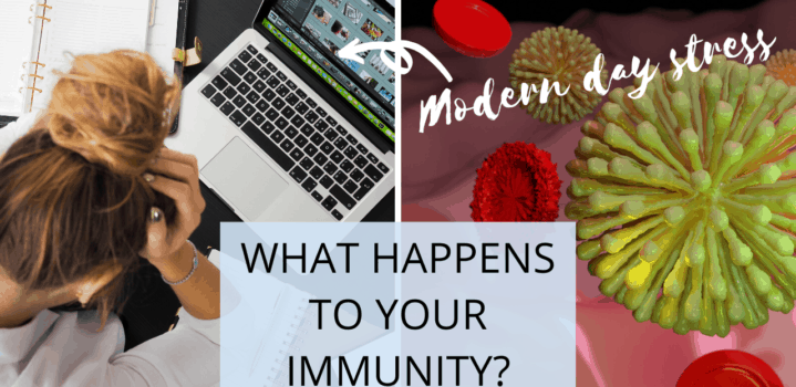 How Modern Day Stress Impairs Your Immune System in Fighting Off Infection