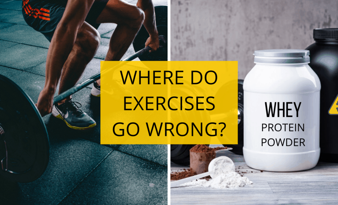 Where Do Exercises Go Wrong and Why Are Fit People So Sick?