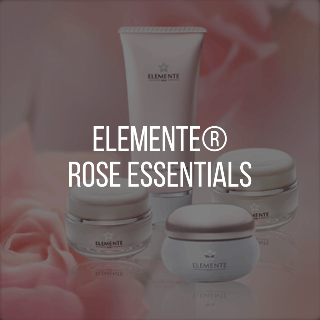 E. Excel Elemente rose essentials skin care on Nourish Natural Wellness