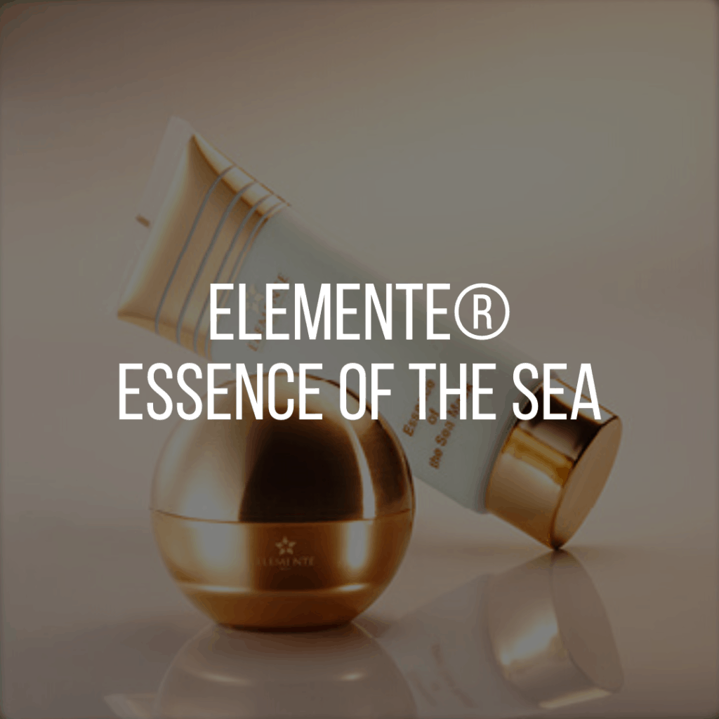 E. Excel Elemente essence of the sea skin care on Nourish Natural Wellness