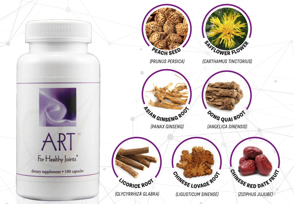 E Excel Nutritional Immunology ART healthy joints support on Nourish Natural Wellness