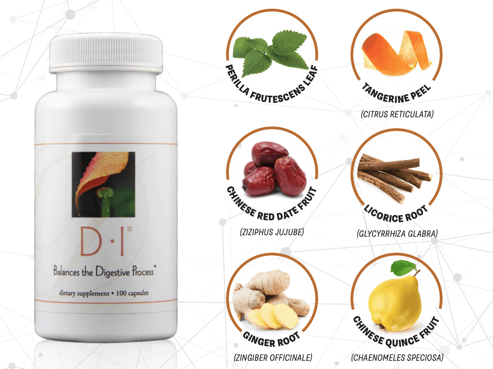 E Excel Nutritional Immunology D.I. healthy digestion support on Nourish Natural Wellness