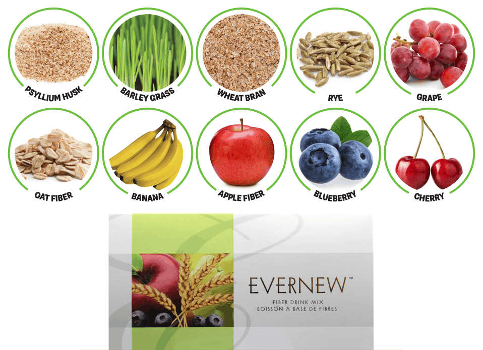 E Excel Nutritional Immunology EVERNEW fiber-rich nutrition support on Nourish Natural Wellness