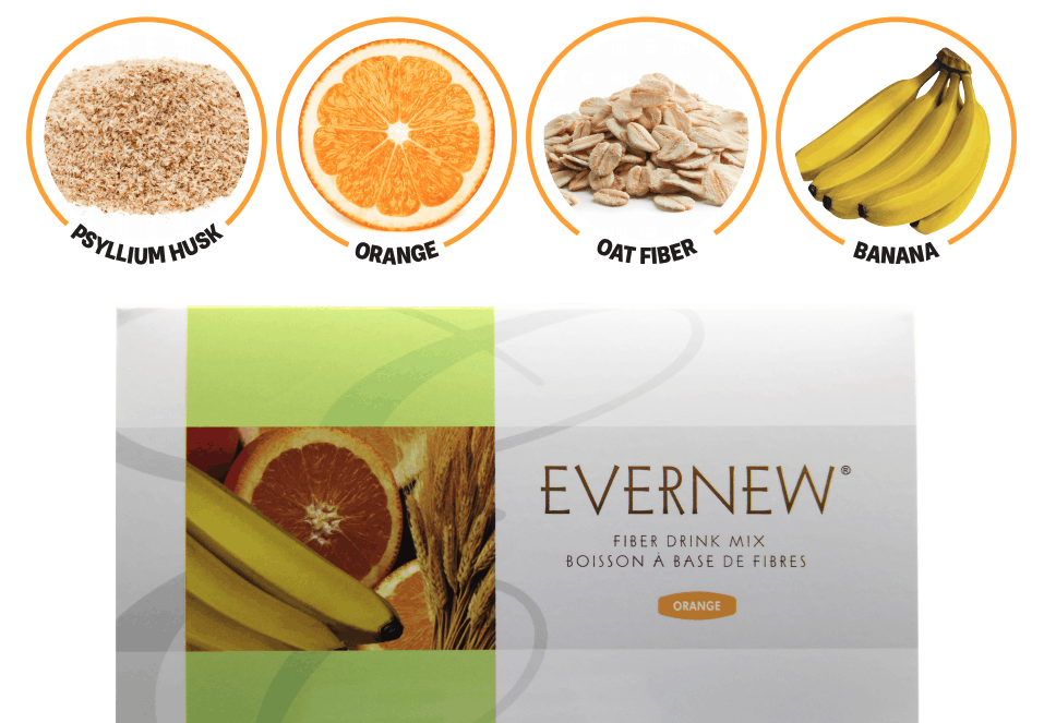 E Excel Nutritional Immunology EVERNEW ORANGE fiber-rich nutrition support on Nourish Natural Wellness