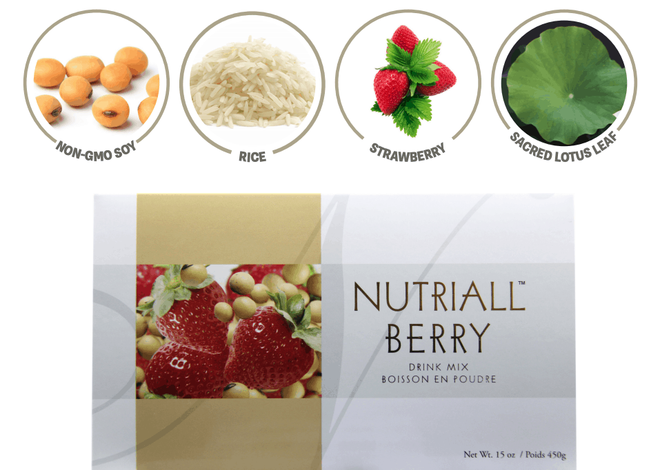 E Excel Nutritional Immunology NUTRIALL BERRY low fat plant protein nutrition support on Nourish Natural Wellness