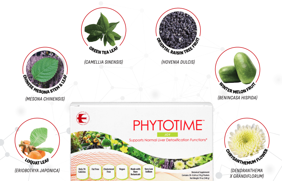 E Excel Nutritional Immunology PHYTOTIME JOY liver detox support on Nourish Natural Wellness