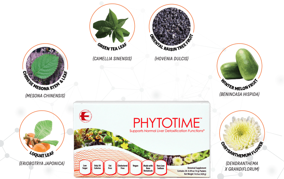 E Excel Nutritional Immunology PHYTOTIME liver detox support on Nourish Natural Wellness