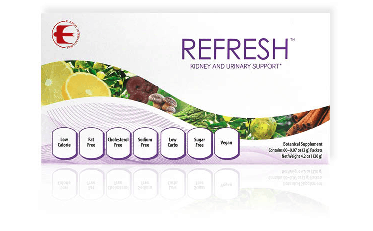 E Excel REFRESH kidney and urinary support on Nourish Natural Wellness