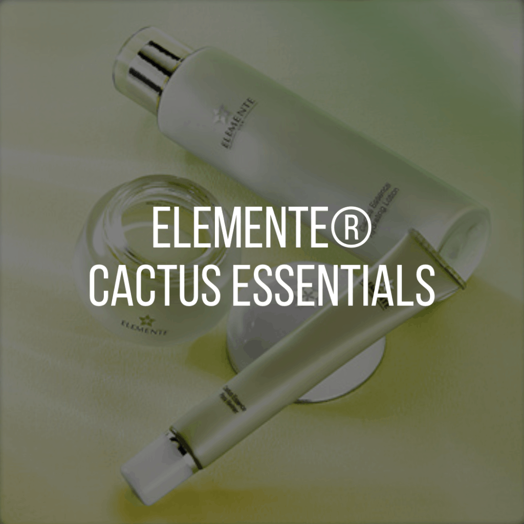 E. Excel Elemente cactus essentials skin care on Nourish Natural Wellness