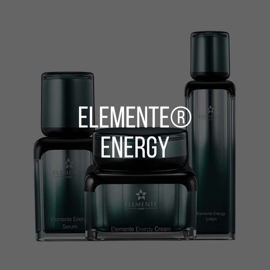 E. Excel Elemente energy skin care on Nourish Natural Wellness