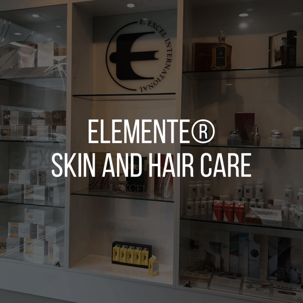 E. Excel Elemente skin hair care on Nourish Natural Wellness