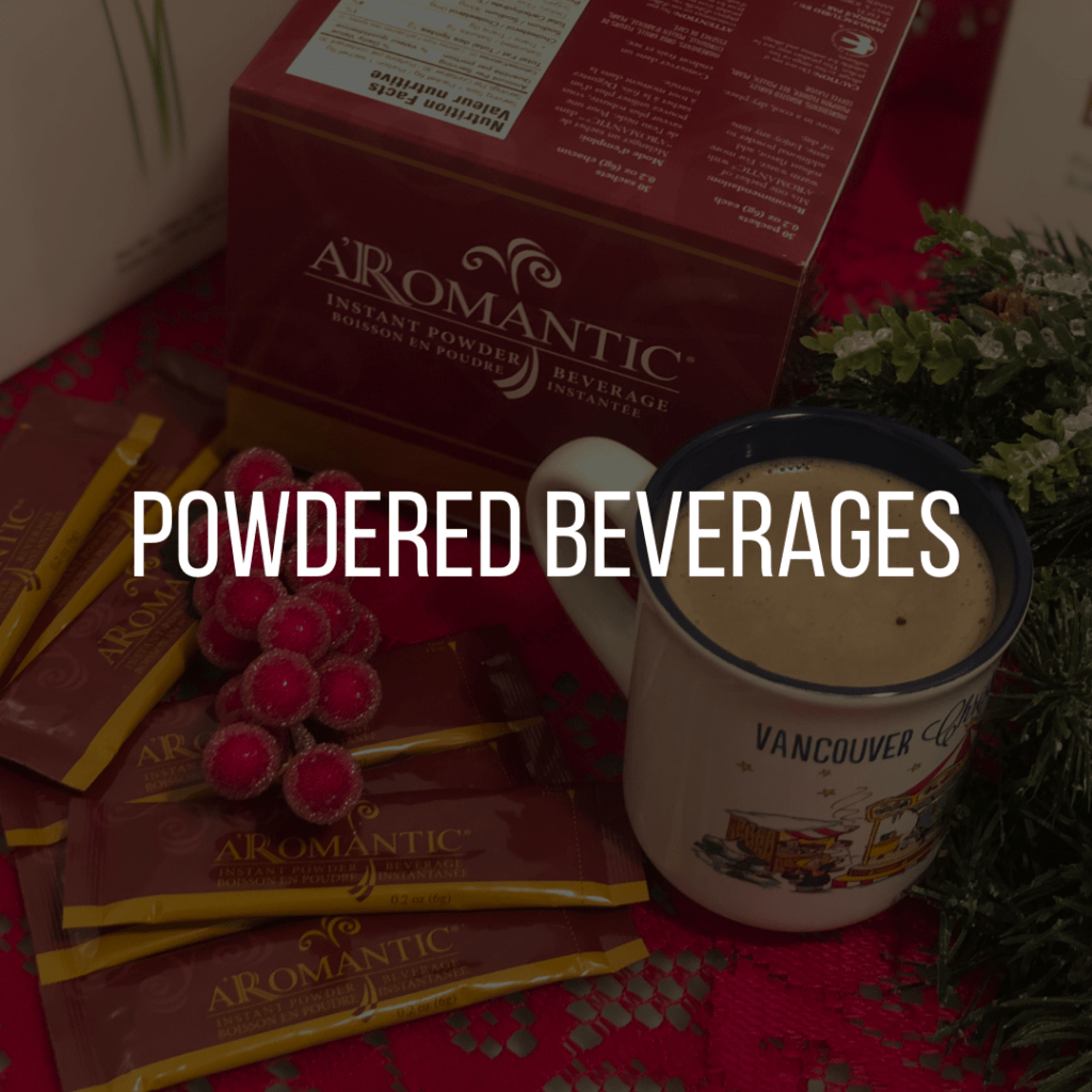 E. Excel powdered beverages on Nourish Natural Wellness
