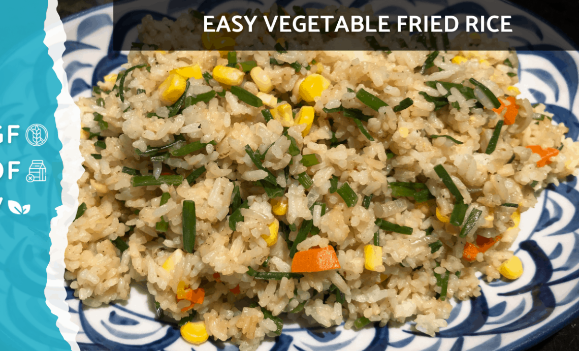 Easy Vegan Gluten Free Fried Rice Recipe | Vegan Gluten Free Nasi Goreng [Easy Plant Based Recipe]