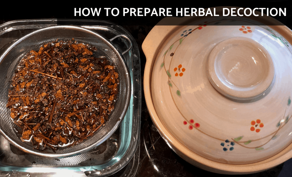 How to Prepare Chinese Herbal Medicine   Herbal Decoction [Traditional Chinese Medicine]