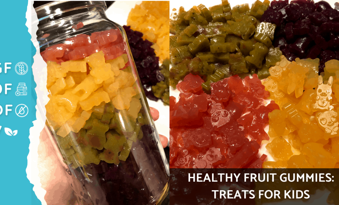 Fruit Gummies Recipe || Gummy Fruit Snacks Recipe || Healthy Fruit Treats || Healthy Treats for Kids
