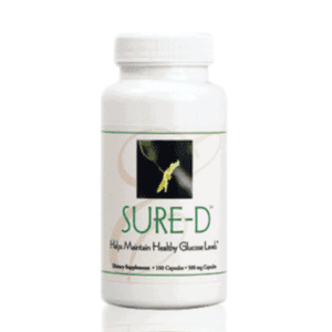 Sure-D endocrine system support on Nourish Natural Wellness
