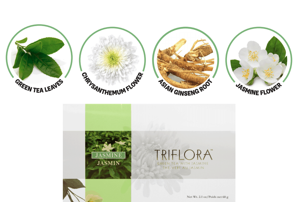 E. Excel Nutritional Immunology Triflora caffeine free cleansing beverage on Nourish Natural Wellness