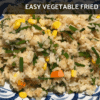 Easy Vegan Gluten Free Fried Rice Recipe | Vegan Gluten Free Nasi Goreng [Easy Plant Based Recipe] on Nourish TV Healthy Recipes